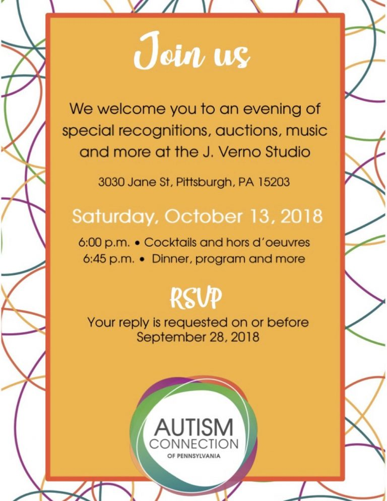 Autism Connection of PA 18th Annual Gala